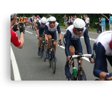 Team GB Mens Road Race Canvas Print