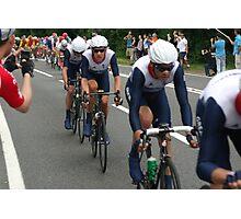 Team GB Mens Road Race Photographic Print