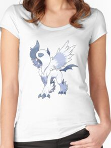 Mega Absol Women's Fitted Scoop T-Shirt