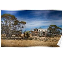 On the Mallee Highway Poster