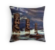 Apodaca Lake Throw Pillow