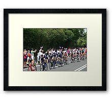 Team GB Mens Road Race Framed Print