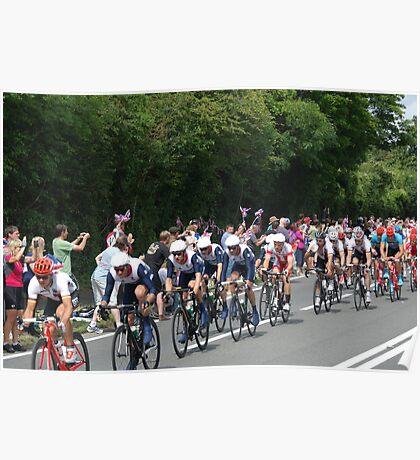 Team GB Mens Road Race Poster