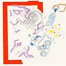 Night Drawings - Les Dessins de Nuit n°36  - Hot wave ? by Pascale Baud
