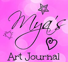 Mya's Art Journal  by Deborah McGrath