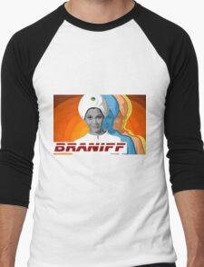 BRANIFF Men's Baseball ¾ T-Shirt