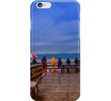 Redondo Beach Pier Fishers iPhone Case/Skin