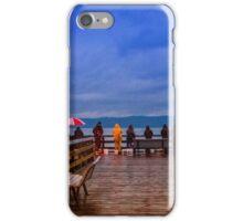 Redondo Beach Pier Fishers iPhone Case/Skin