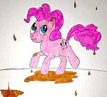 Chocolate Rain Pinkie Pie by OBGBrony
