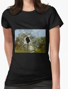 Bullet Hole Womens Fitted T-Shirt