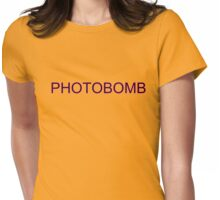 photobomb SLANG TEE Womens Fitted T-Shirt
