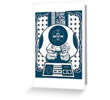 DR MARIO - Super Mario  Greeting Card