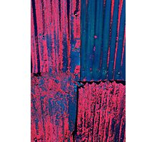 Pink CORRUGATED Photographic Print