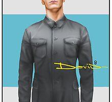 Michael Fassbender as David 8 by StevePaulMyers