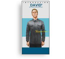 Michael Fassbender as David 8 Canvas Print