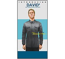 Michael Fassbender as David 8 Photographic Print