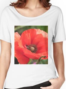 Field Poppy Women's Relaxed Fit T-Shirt