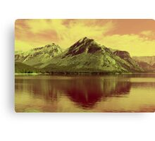 Lake Minnewanka, Banff National Park Canvas Print
