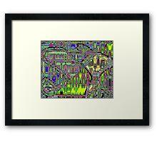 Gumby Loves Gidget B Framed Print