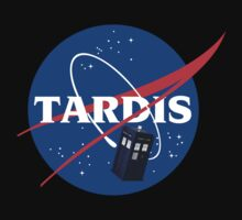Doctor Who TARDIS Space Program (NASA) by Creighton Linza