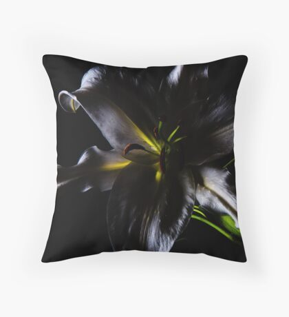 Evil Lily Throw Pillow