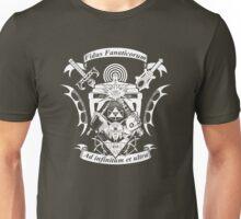NerdCrest  -  White Unisex T-Shirt