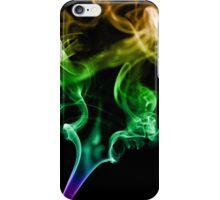 Colourful Smoke Trails iPhone Case/Skin