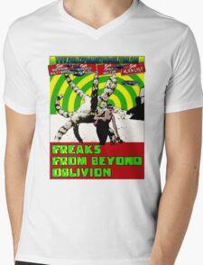 Freaks From Beyond Oblivion Alien  Mens V-Neck T-Shirt