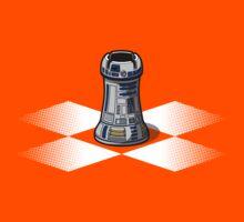 Chess R2-D2: Rook to D2 Kids Tee
