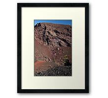 Big Craters Framed Print