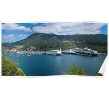 Picton Harbour Poster