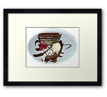 Just Dessert  Framed Print