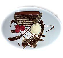 Just Dessert  Photographic Print