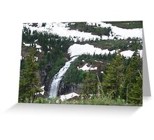 GLACIER MELT Greeting Card
