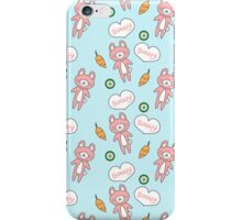 Adorable Kawaii Bunny Pattern iPhone Case iPhone Case/Skin