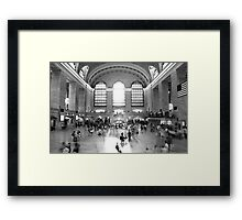 Main Concourse, Grand Central Framed Print