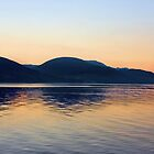 Sunset on Loch Long by Derick Gray
