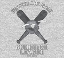 British and Irish Quidditch League (white design) by CFletch85