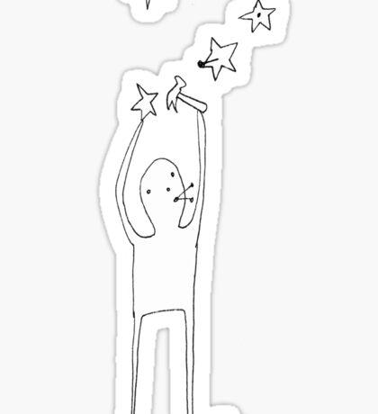 Star Man Sticker