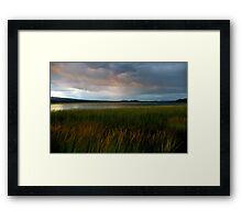 summer storm... Framed Print