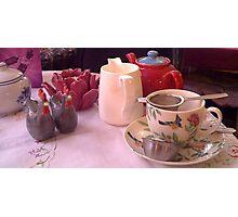 Alice in Wonderland Tea Room Photographic Print