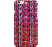 Neon Mikkey Knit iPhone Case/Skin