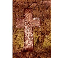 Ancient Cross Photographic Print