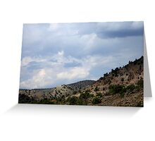 The Beauty Of Rural Nevada Greeting Card