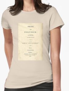 PRIDE and PREJUDICE Novel Cover T-Shirt