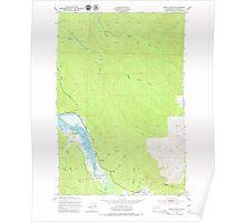 USGS Topo Map Washington State WA Oman Ranch 242954 1949 24000 Poster
