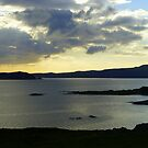 Late Evening On The Donegal Atlantic Drive by Fara