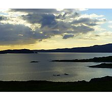 Late Evening On The Donegal Atlantic Drive Photographic Print