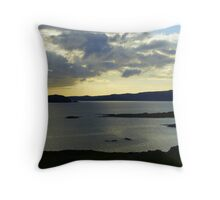 Late Evening On The Donegal Atlantic Drive Throw Pillow