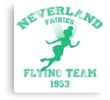 Tinkerbell - Flying Team of Neverland Canvas Print